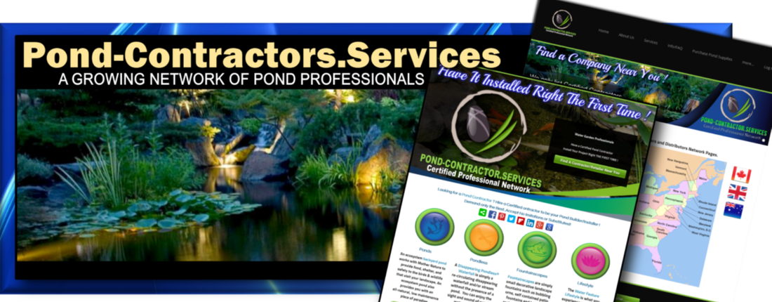 Pond Maintenance, Cleaning & Repair Contractro